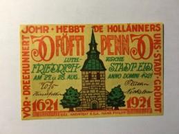 Allemagne Notgeld Friedrich 50 Pfennig 1921 NEUF - Collections