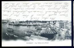 Cpa  D' Australie  Sydney La Ville Et Le Port     LIOB45 - Australie