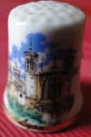 Dé à Coudre - Lyon (Fourvière 69) - Dessin Sur Porcelaine - Collection - Ditali Da Cucito