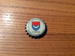 """Ancienne Capsule De Bière """"2eme COLLECTION DE BLASONS - ST AMARIN - BIÈRES Mutzig ALSACE"""" (67) Blason - Cerveza"""