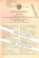 Original Patent - Georg Rietkötter In Hagen , 1905 , Kippbarer Tiegelschmelzofen , Schmelzofen , Ofen , Öfen , Ofenbauer - Historische Dokumente