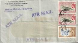 "Airmail Brief  ""Royal Bank Of Canada, Belize""          1953 - British Honduras (...-1970)"