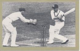 Nostalgia Postcard Modern - Hutton Just Misses Third Century 1946 - Cricket
