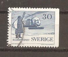 Suecia-Sweden Nº Yvert  Aéreo 8a X2 (usado) (o)