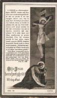 DP.  LUDOVICUS VAN NEVEL     ST.MARTENS-LEERNE 1836 - 1910 - Religion & Esotericism