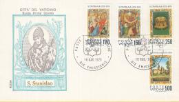 Vaticaan - FDC 18-05-1979 - 900. Jahrestag Des Martyriums Des. Hl Stanislaus - Michel 739 - 742 - FDC