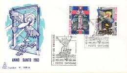 Vaticaan - FDC 10-03-1983 - Heiliges Jahr Der Erlösung 1983/84 - Michel 816 - 819 - FDC