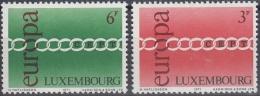 Luxemburgo 1971 Nº774/75 Nuevo - Nuevos
