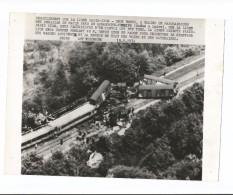 Romaneche Thorins Le Déraillement D'un Train En 1974 - Frankrijk