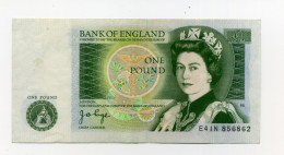 ONE POUND - 1952-… : Elizabeth II