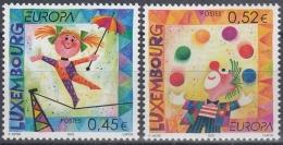 Luxemburgo 2002 Nº1524/25 Nuevo - Luxemburgo