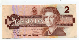 TWO  DOLLARS 1986 - Canada