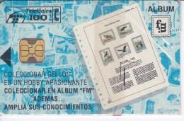 P-025 TARJETA DE ESPAÑA FILATELIA MARTINEZ DE TIRADA 2000  NUEVA-MINT  (SELLO-STAMP) - España