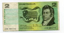 TWO DOLLARS - 1974-94 Australia Reserve Bank
