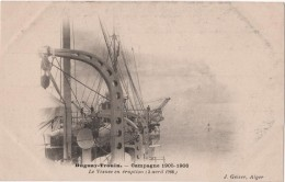 CPA Campagne Du DUGUAY TROUIN 1905 Vésuve En Eruption Geiser Alger - Italy