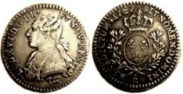 FRANCE LOUIS XVI 1/10e D´écu 1787 R OLEANS TTB+ - 987-1789 Royal