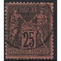 Frankreich 1878 Allegorien 74 Gestempelt - 1876-1898 Sage (Type II)