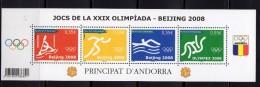 Andorre 2008.Boc.Jeux Olympiques Beijing - Ongebruikt