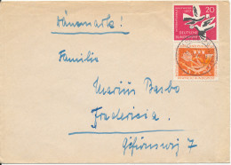 Germany Cover Sent To Denmark 5-11-1957 - [7] Federal Republic
