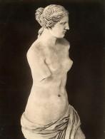 France Musee Sculpture Grecque Venus De Milo Aphrodite Ancienne Photo 1880 - Photographs