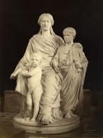 France Musee Sculpture La Mère Des Gracques Par Cavelier Ancienne Photo 1880
