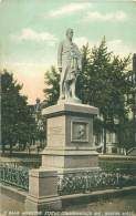 BOSTON - Commonwealth Ave - Hamilton Statue - Boston