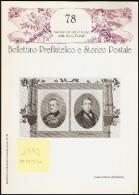 BOLLETTINO PREFILATELICO E STORICO POSTALE  - ANNATA 1992 ( N° 75/78) - Filatelia E Storia Postale