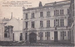 CPA Arras - Guerre 1914-15 - Place De La Croix-Rouge, Une Grosse Marmite A Défoncé La Chaussée - 1919 (22624) - Arras