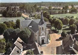 41 - SELLES ST DENIS : L'Eglise - Jolie CPSM Dentelée Colorisée GF 1966 - Loir Et Cher - France