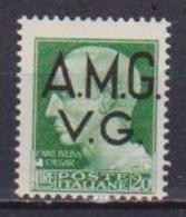 ITALIA A.M.G.V.G. 1945-1947 FRANCOBOLLI D'ITALIA DEL 1929-47 SOPRASTAMPATI SASS. 12 MNH XF - Trieste