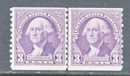 U.S. 721  LINE  PAIR  **   1932  ISSUE - United States