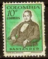 COLOMBIA 1959.12.11 [931-1] Capitolio Nacional, Bolivar Y Santander - New - Colombia