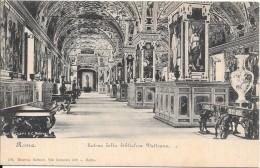 ROMA - ROME - ITALIE - CPA DOS SIMPLE - Salone Della Biblioteca Vaticano - ENCH1202 - - Roma (Rome)