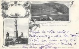 Giromagny - Multivues: Sommet Du Ballon D'Alsace Et La Vierge - Carte Précurseur - Giromagny