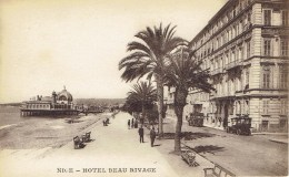 NICE - HÔTEL BEAU RIVAGE - Pubs, Hotels And Restaurants