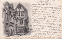 Cp , 76 , ROUEN , Maison Du XVe S., Rue Saint-Romain - Rouen