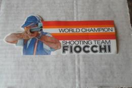 "Autocollant Chasse /tir / Munition "" FIOCCHI  ""world Champion Shooting Sport "" - Adesivi"