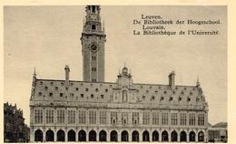 Carte Postale Nels Bromurite Leuven De Bibliotheek Der Hoogeschool - Louvain  La Bibliothèque De L'Université - Leuven