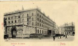 PARIS 6è ,Séminaire Saint-Sulpice  Animée Carte Précurseur Kunzli - Arrondissement: 06