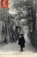 PARIS 18è - Montmartre - Petit Métier - Un Troubadour Montmartrois... - Rue Saint-Vincent - Arrondissement: 18