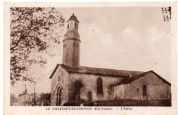 LE CHATENET-EN-DOGNON ( Haute Vienne ) -  L´Eglise - France