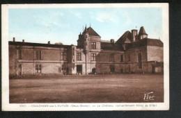 79, COULONGES SUR L'AUTIZE, LE CHATEAU (ACTUELLEMENT HOTEL DE VILLE) - Coulonges-sur-l'Autize