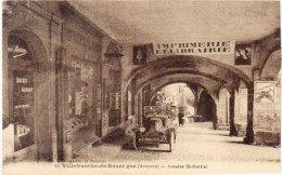 VILLEFRANCHE DE ROUERGUE -  Arcades St Martial -Auto - Commerces...    (86455) - Villefranche De Rouergue