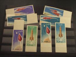 DUBAI - P.A. 1964 SPAZIO 8 Valori ND - NUOVI(++) - Dubai