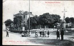 64, BENEJACQ, PRES NAY, LA PLACE DE L'EGLISE, LA MAIRIE, LA POSTE, L'ECOLE - Sonstige Gemeinden