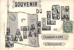 Carte Postale Ancienne De REMIREMONT - Remiremont