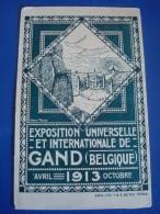 GENT : Exposition Universelle Et Internationale De 1913 - Gent