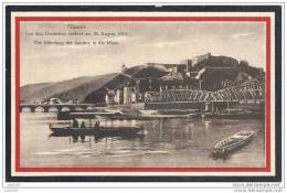 NAMUR ..-- 26 August 1914 . Die Mündung  Der Sambre In Die Maas . - Namur