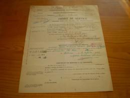 Etat Français, 2° Régiment De La Garde De Puy Guillaume;ordre De Service Pour Aller Passer Une Visite Médicale à Marseil - Documents Historiques
