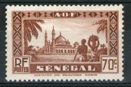 N° 162*_neuf Sans Gomme - Senegal (1887-1944)
